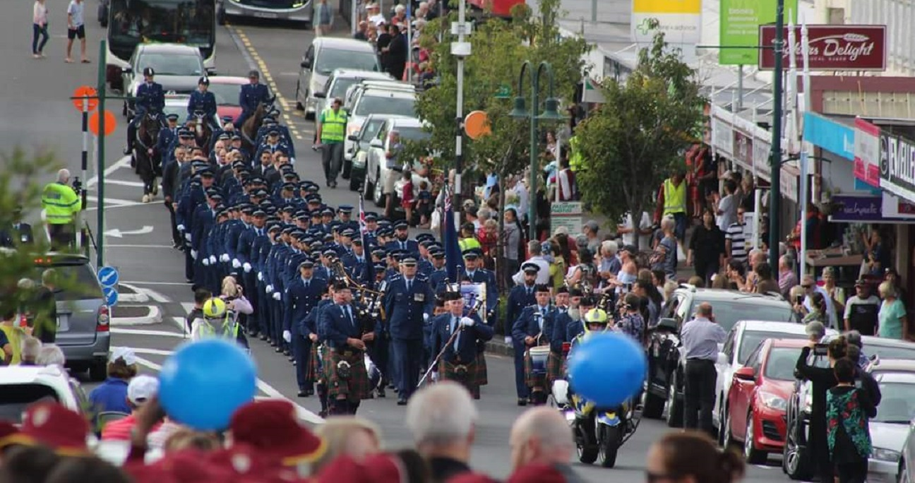 Police Pay Parade – Howick Town Centre – 2017